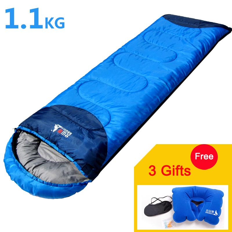 190+30 2018 New Sale Cho Oyu 1pc Sleeping Bag Camping Sports Family Bed Outdoor Hunting Hiking *75cm