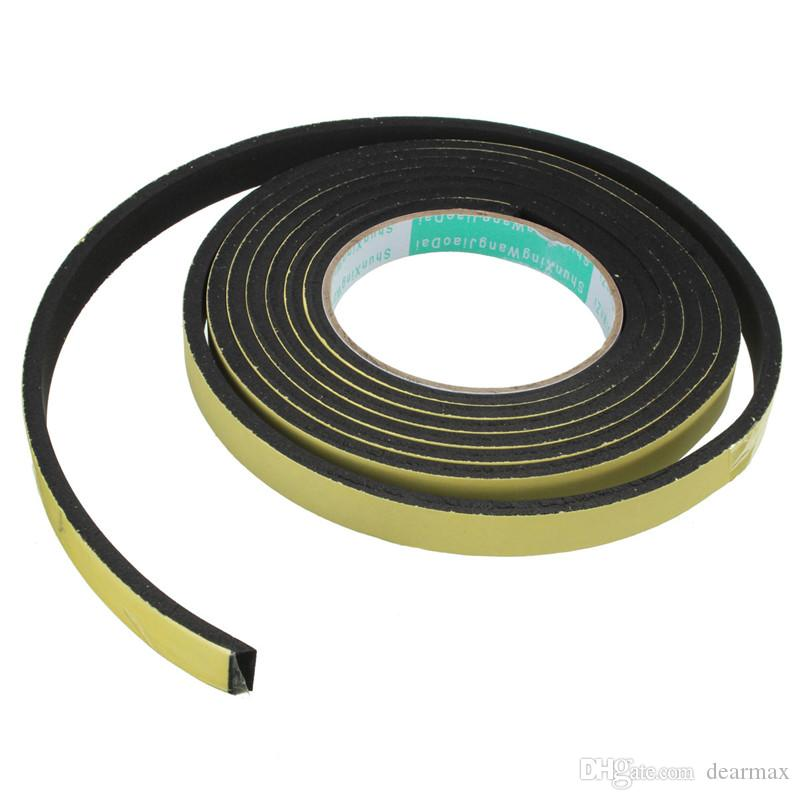 New Sealing Strips 3 Meter Window Door Foam Adhesive Draught Excluder Strip  Sealing Tape Adhesive Tape Rubber Weather Strip Studio Soundproofing Foam  ...