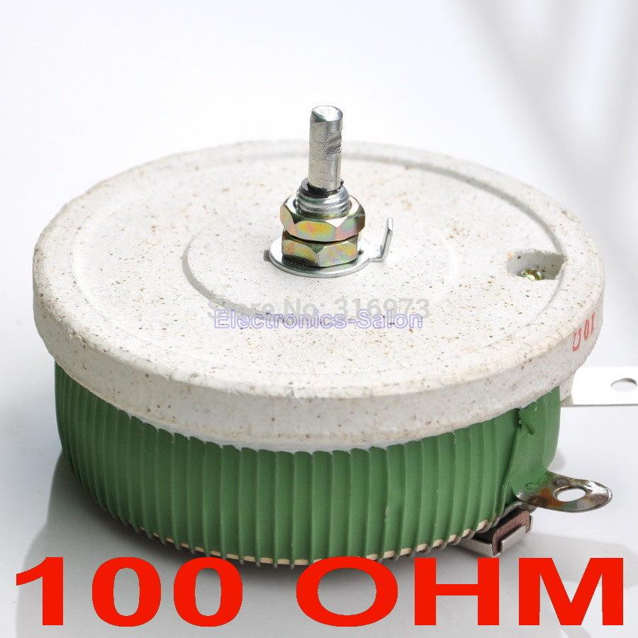 Wholesale 200w 100 Ohm High Power Wirewound Potentiometer Rheostat Variable Resistor Circuit 200 Watts