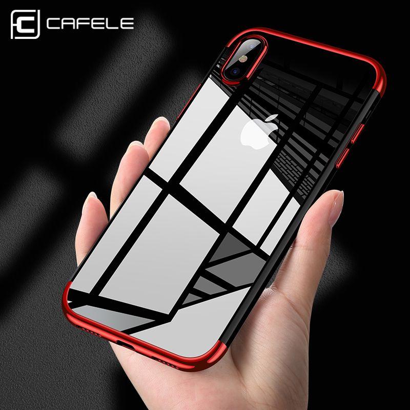 cafele original phone case for iphone x luxury fashion transparent