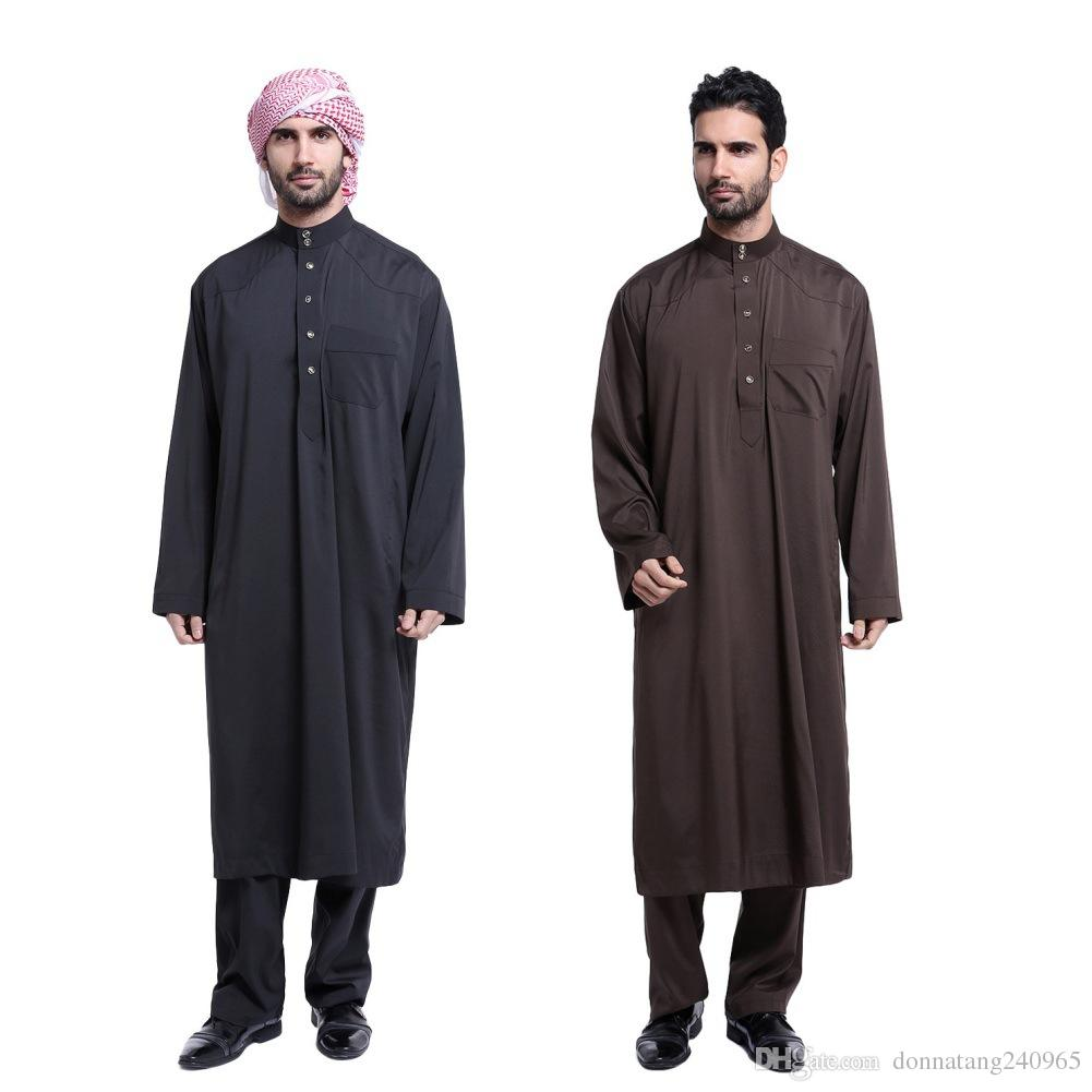 online cheap fashion muslim clothing for men mens kaftan
