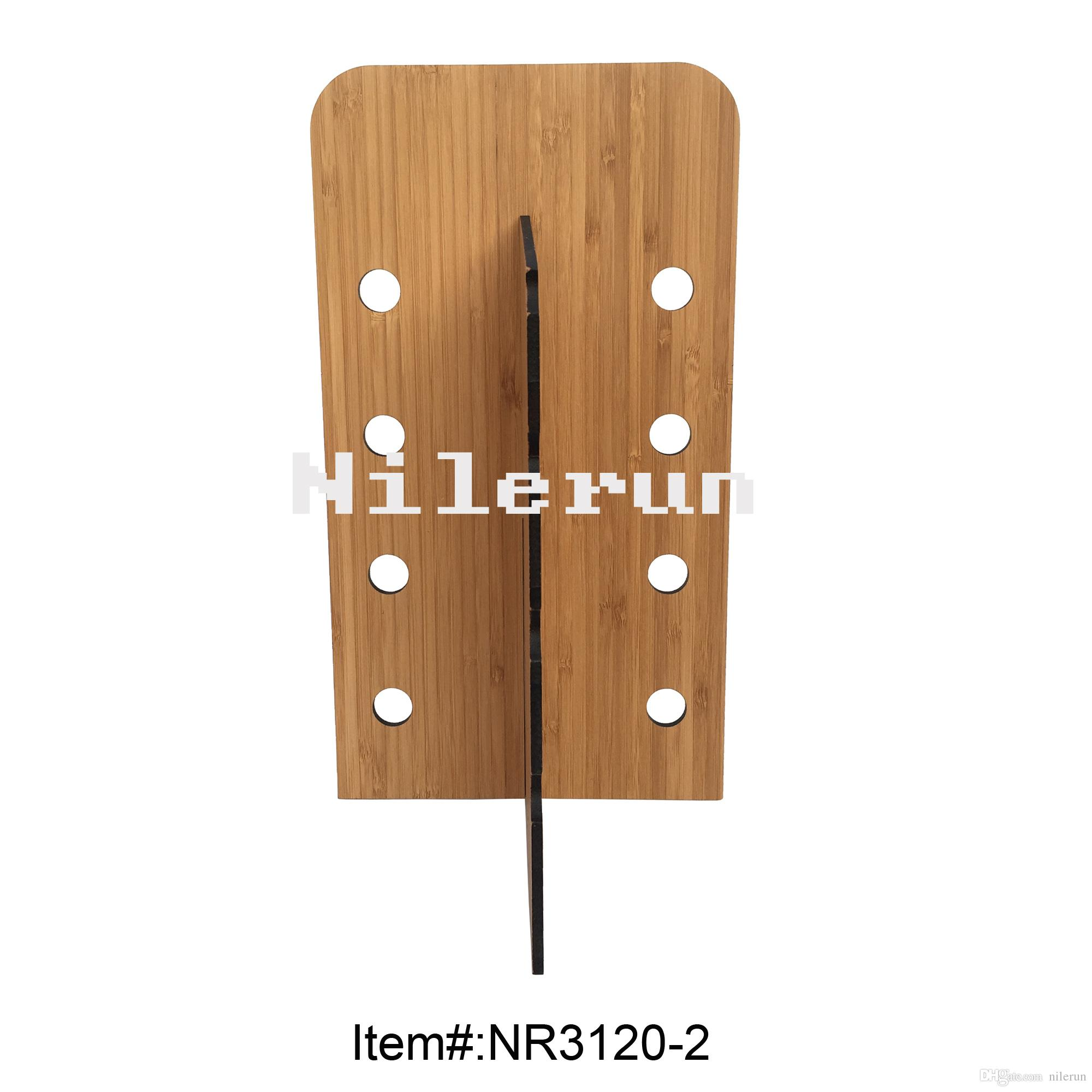 2019 Hot Selling Eyewear Shop KD Bamboo 8 Holes 4 Sunglasses Display Stand  In Large Stock For Wholesale From Nilerun 81f506e35aeb
