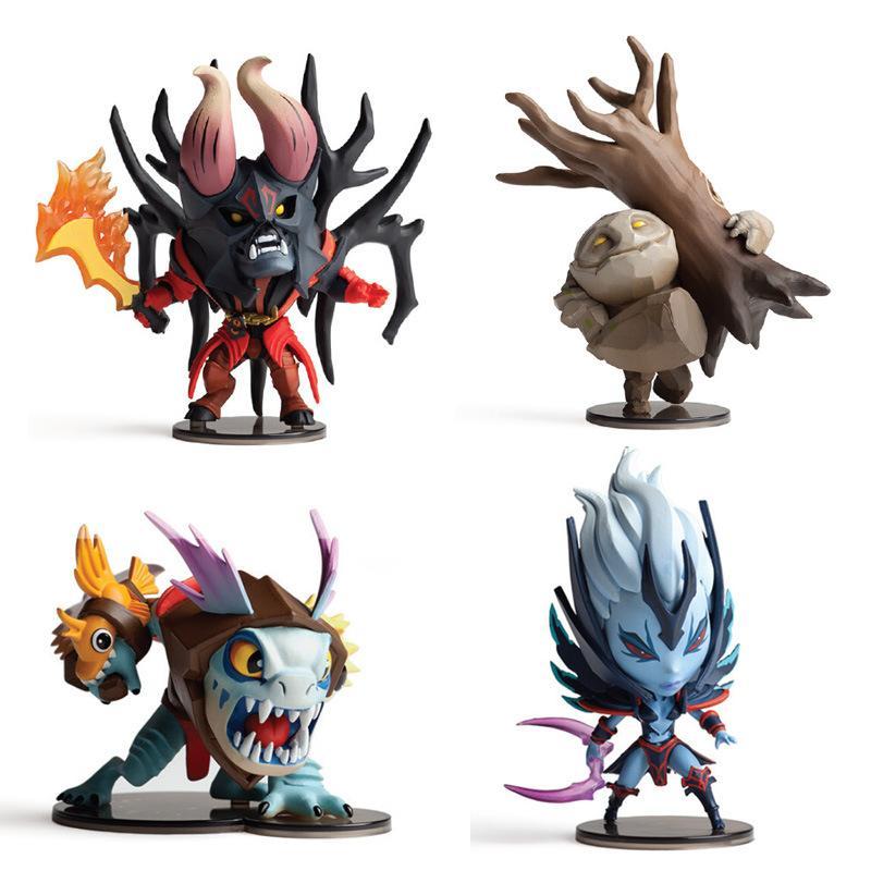 2018 dota 2 figurine pudge toys set 2016 new game dota2 q hero