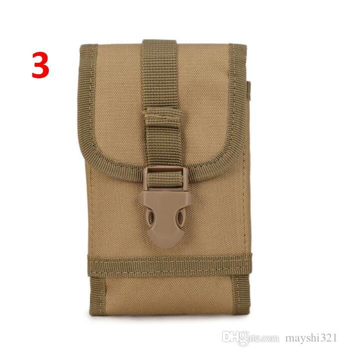 2017 Molle Gear Military Tactical Waist Bag Nylon Outdoor Multi Functional Large Screen Molle Phone Pouch for Iphone Sumsung