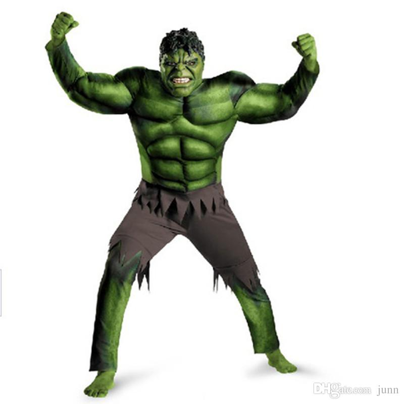 High Quality The hulk Mascot Costume Cartoon Clothing green giant Suit kids Size Fancy Dress Party Factory Direct
