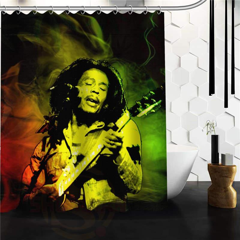 2018 Wholesale High Quality Custom Bob Marley Rasta Reggae Custom Shower  Curtain 60x72 48x72 Inch From Hogane, $31.57 | Dhgate.Com
