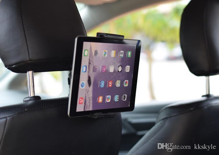 Evrensel Araç Tutucu, Oto Kafalık Arka Koltuk Tablet Araba Montaj Tutucu Cradle Braketi Standı-360 Telefon GPS ve Pad Dönen Tutucu 5.5-12