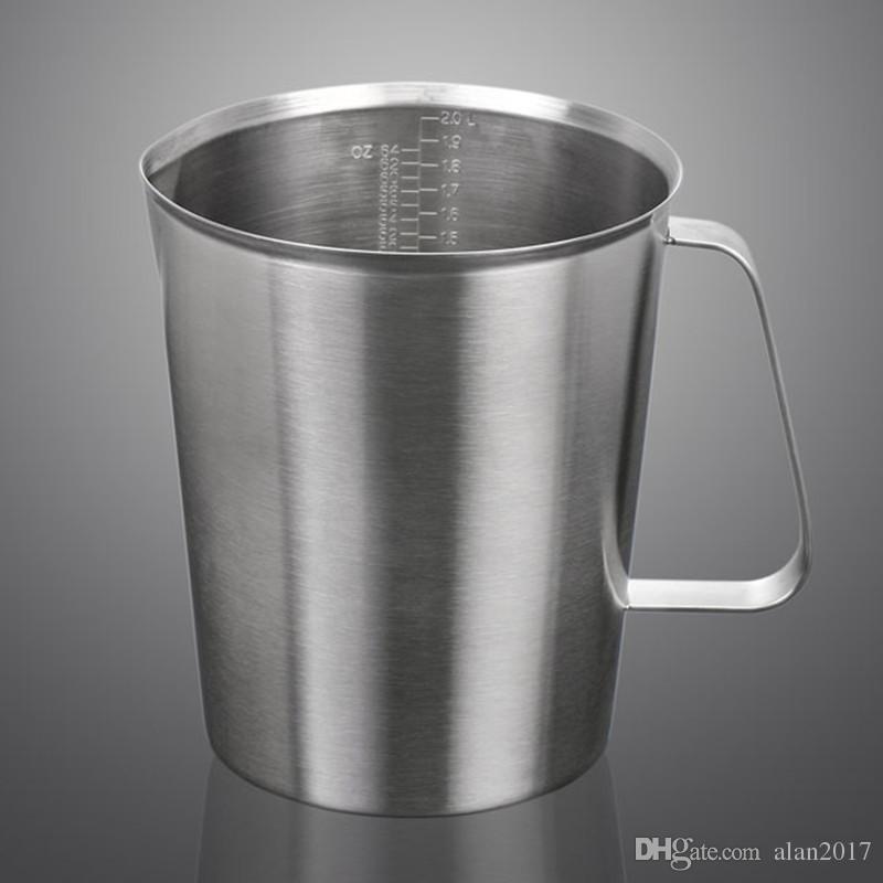 Утолщение 304 из нержавеющей стали масштаба мерный Кубок гирлянда Кубок кухня кондитерские инструменты таза-де-Медир