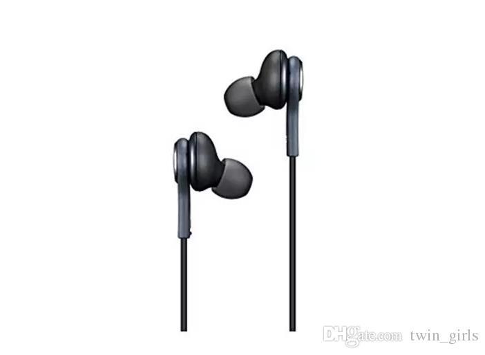 Auricolari di alta qualità Auricolari Samsung S7 S6 S8 bordo S8 + Galaxy Cuffia In Ear Headset Con Controllo Volume Mic EO-IG955