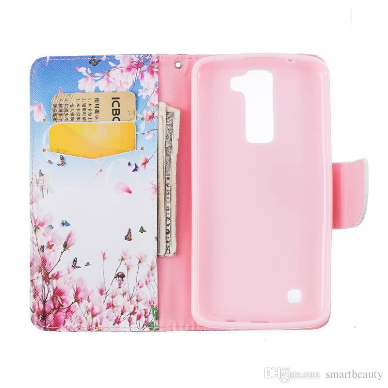 Borboleta carteira de couro case para samsung j3 j3 2016 j5 j110 j510 j710 a510 a310 Suporte Traseiro Titular do Cartão de Crédito Titular Slot Casos de Telefone