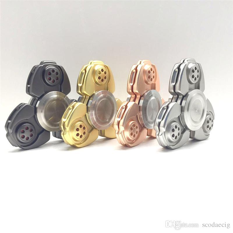 High End Aluminum Alloy Ceramic Bearing Edc Ckf Fid Spinner
