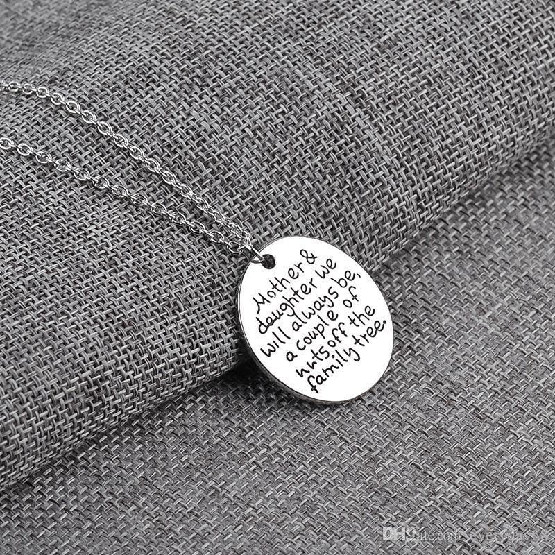 2017 personalisierte mutter tochter halskette