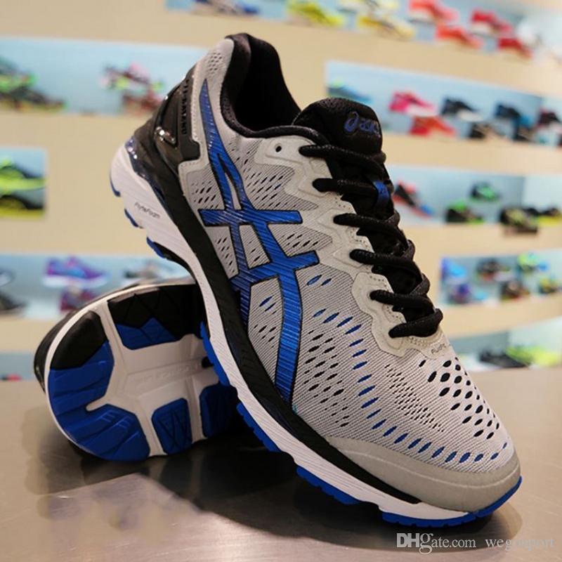 Compre 2018 Preço De Desconto Novo Estilo Asics Gel Kayano 23 Tênis Para  Homens Sapatilhas Originais Athletic Sport Shoes Tamanho 40 45 Frete Grátis  De ... 7918834ed1e04