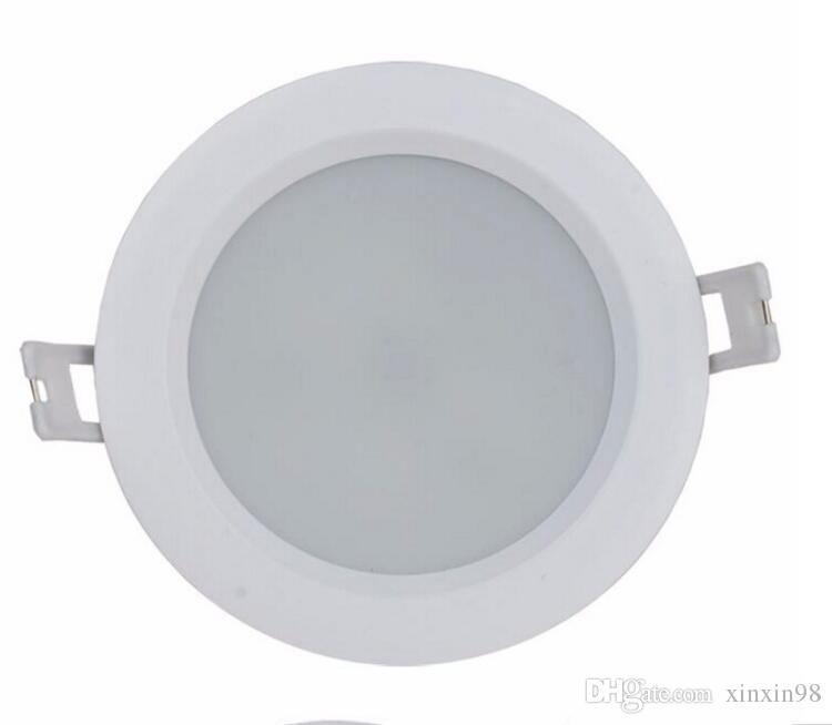 Wholesale Dimmable 12W Warm Cold White High Quality Waterproof IP65 Recessed Led Down light lamp AC85~265V
