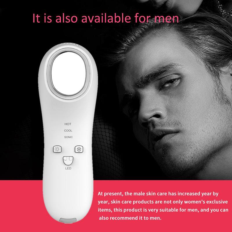 Nuevo distribuidor de productos quería cara masajeador anti arrugas máquina de spa facial mejor tratamiento de acné equipo de terapia de luz led