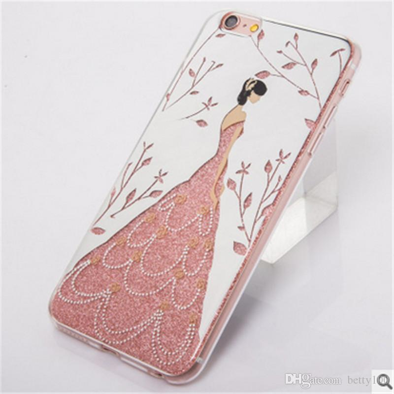 Princess Design Mobile Phone Protection With Apple 7 Back Cover Design Phone Case Clear Cell