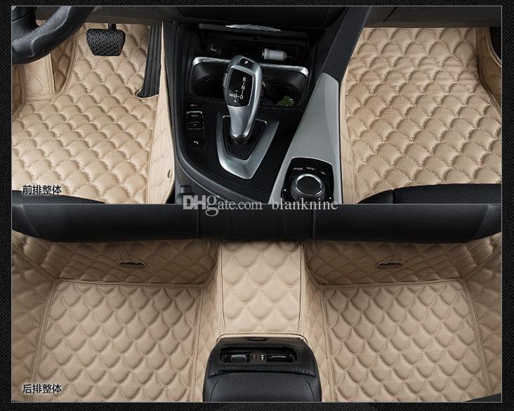 Acheter Cuir Pour Tapis De Sol Auto Auto Ajuste Pour Porsche Cayenne
