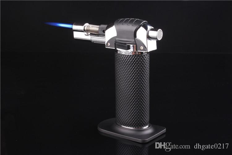 Butane Scorch Torch Jet Flame Lighter Kitchen Torch Lighter Metal Dab creme brulee Windproof RefillableTorch Lighter Gas Butane