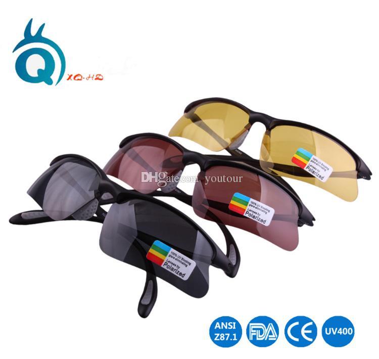 Super léger hommes femmes lunettes de soleil polarisées sport en plein air spécial pour lunettes de soleil myopie version nuit de pêche, lunettes de protection