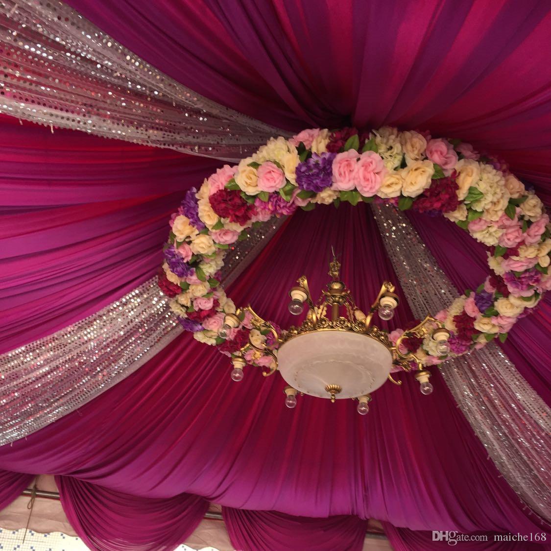 Atacado Simulação rosas flores de seda flores decorativas Fontes do casamento