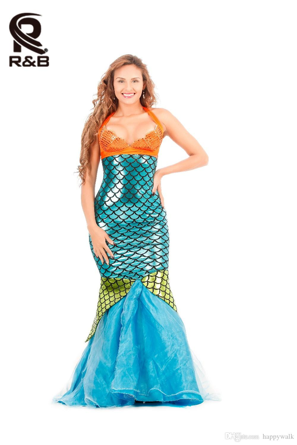 hot sale women sexy mermaid costumes halloween cosplay dress romantic beauty dress sea maid sexy dress woman cosplay polyester costume funny halloween