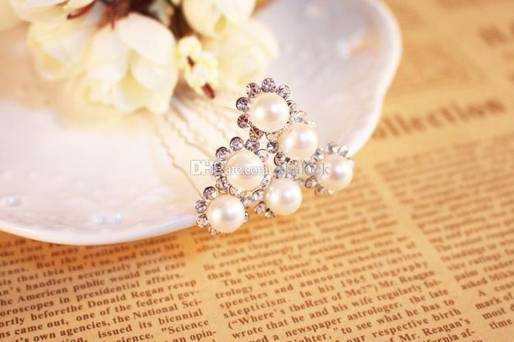 Multi-style Headpiece Wedding Accessories Special Occasion Head Clips & Pins Small Size Bridal Hair Accessories Headwear Headband