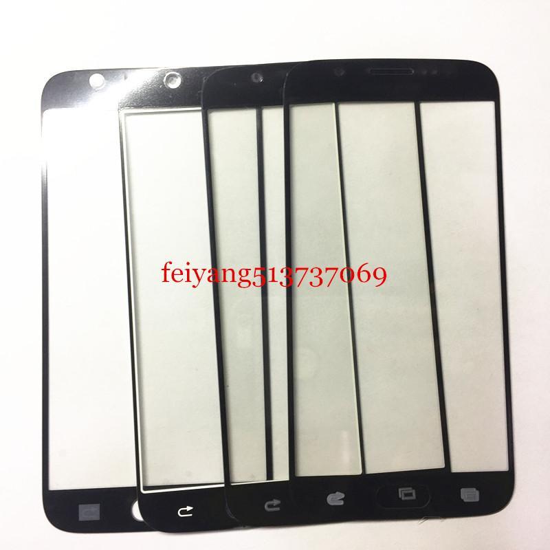 10 PZ TOP Un pannello Touch Screen di qualità Sostituzioni Samsung Galaxy s6 g920 g920f Touch Screen Frontale Esterno Lente In Vetro