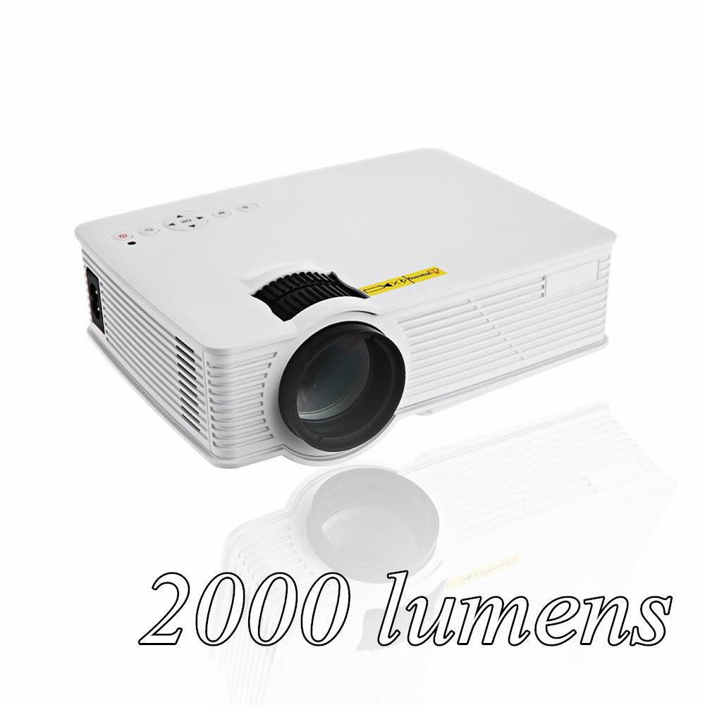 2000 Lumens Full Hd 1080p Led Lcd 3d Vga Hdmi Tv Home: 2019 Wholesale GP 9 2000 Lumens Mini Projetor Full HD
