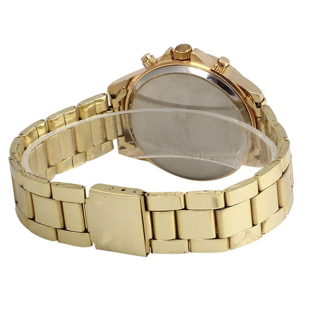 Женева Женские часы Лучший бренд класса люкс Мода Люкс Rhinestone Кристалл Кварцевые аналоговые часы