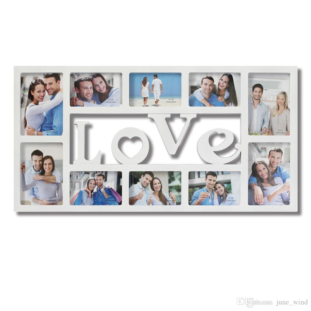 2018 10 opening love collage picture wall hanging photo frame see larger image jeuxipadfo Image collections