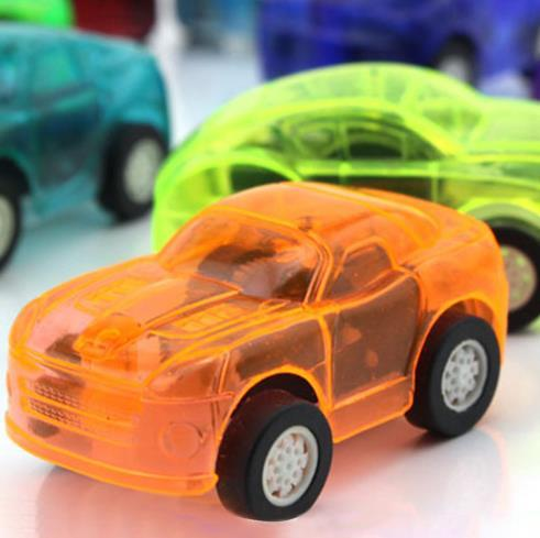 5 pezzi Giocattoli bambini Carino Plastica Tirare indietro Automobili Macchinine bambini Ruote Mini modello di auto Giocattoli divertenti bambini ragazzi Colore casuale