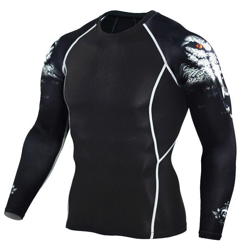 Wholesale Teen Wolf 2017 Mens Compression Shirt Slim Fit Crossfit  Bodybuilding 3D Print T Shirt Men Fitness Tights Brand Clothing Tops 4XL T  Shirt Makes ... 56c3c9268