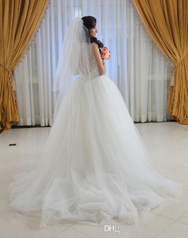 Hot Sales Simple Soft Tulle Chapel Bridal Veil For Beach Garden Weddings Two Layers With Comb Cheap Price Long Wedding Veils Custom Made