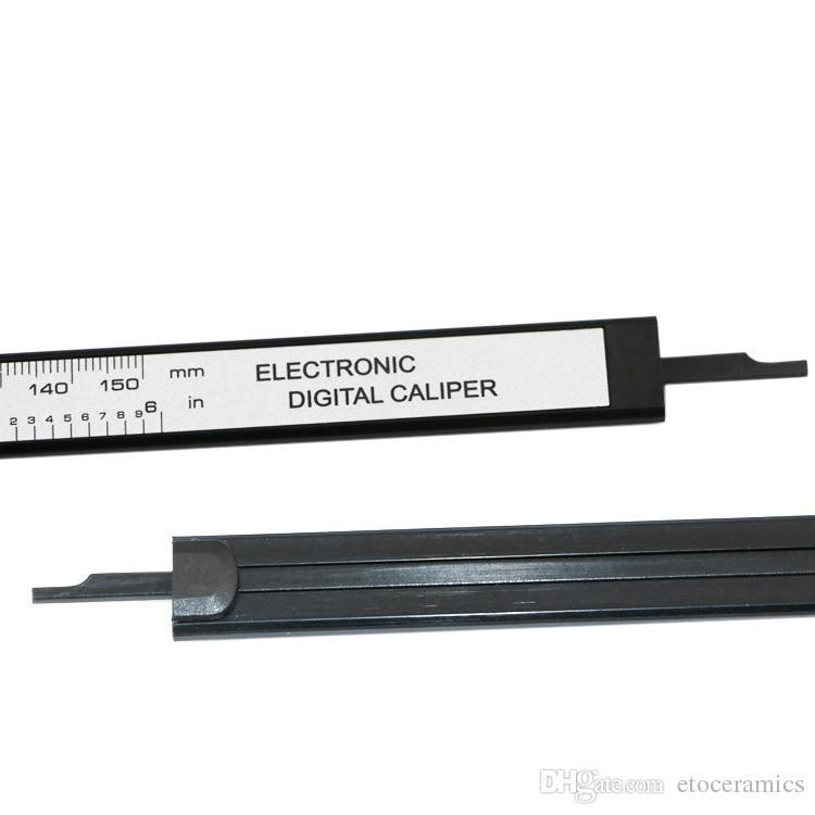 150mm 6 inch LCD Cyfrowy Elektroniczny Włókno Włókno Węglowe Mikrometr Darmowa Wysyłka Darmowa Wysyłka