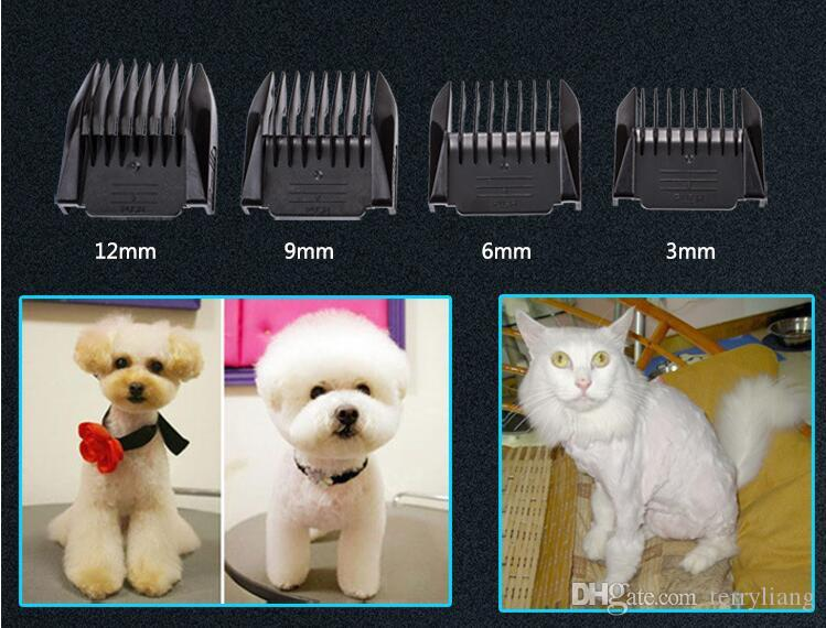 grooming pet hair trimmer 2000ma ceramic head cutting dog waterproof hair clipper teddy fur cut tool cat precision hair shave