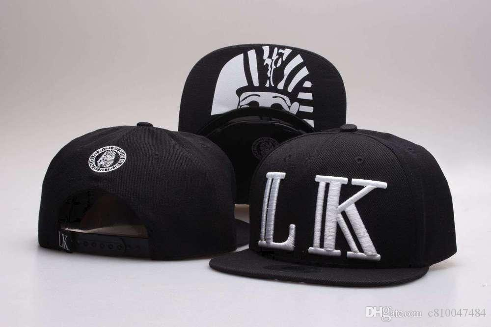 2216e3c0904 New Style Last Kings Snapback Caps Red Black Lk Kingin Hats Men And ...