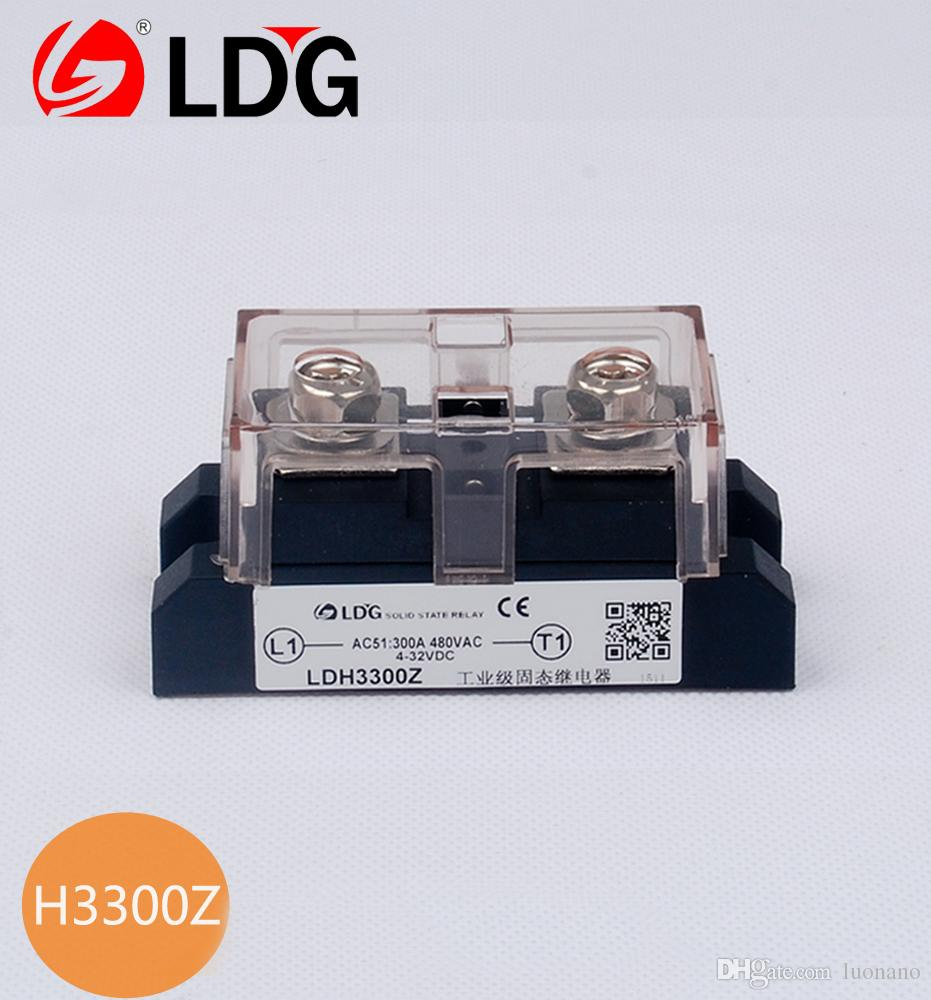 Ldg industrial solid state relay module h3300z high voltage dc to see larger image sciox Gallery