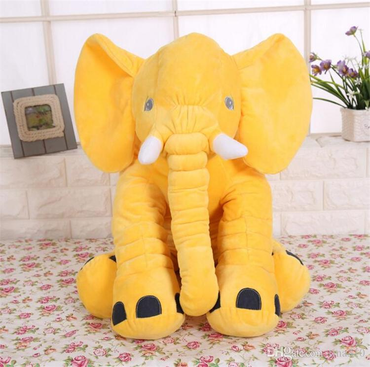 En Yeni Fil Burun Doldurulmuş Hayvanlar Doll Yumuşak Peluş Stuff Oyuncak bebek hediye yumuşak Bel Yastıklar 50 * 60 cm 4636