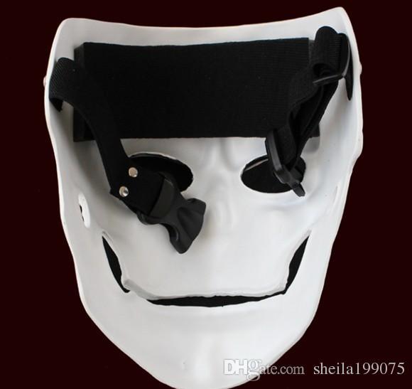 Фильм 007: призрак анфас Маска череп скелет страшно унисекс косплей реквизит для партии Хэллоуин карнавал