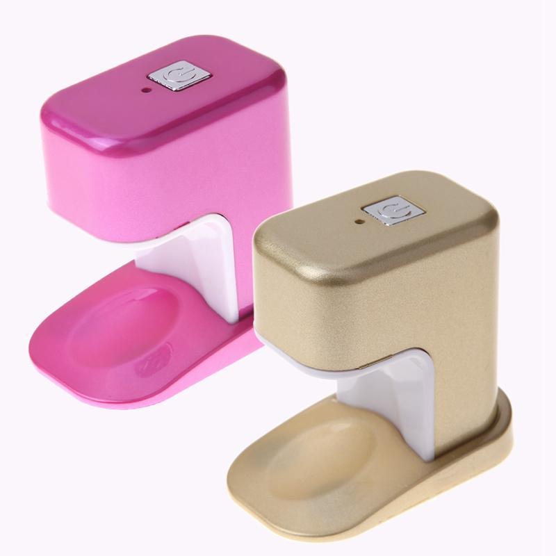 3w Mini LED Lámpara UV Secador de Uñas Lámpara de Carga USB Profesional Gel Polaco Mano Secador de Uñas Secador de Manicura Máquina