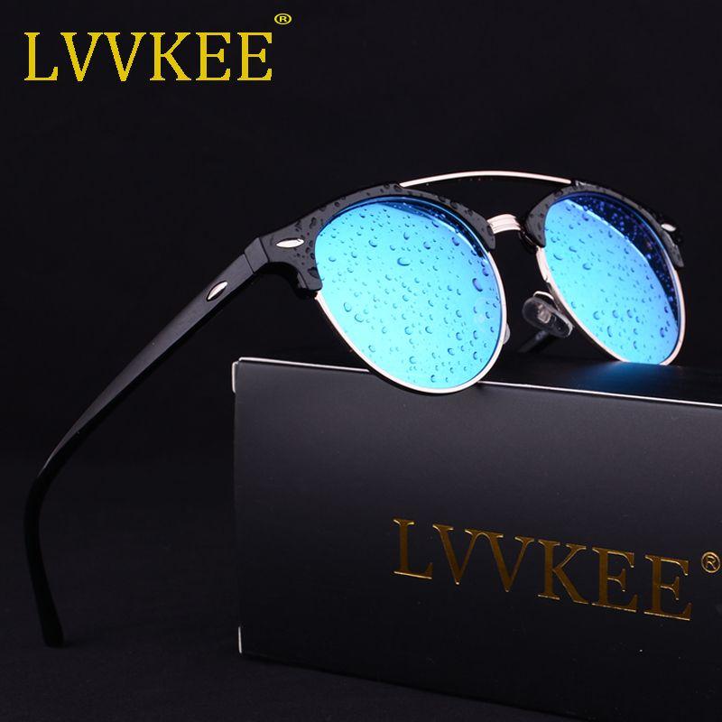 2af938d3cf Compre Nuevas Gafas De Sol Polarizadas Hombres Moda Lady Retro Gafas De Sol  Mujeres Conducción De Calidad Superior Uv400 Con Caja Semi Sin Montura A  $5.03 ...