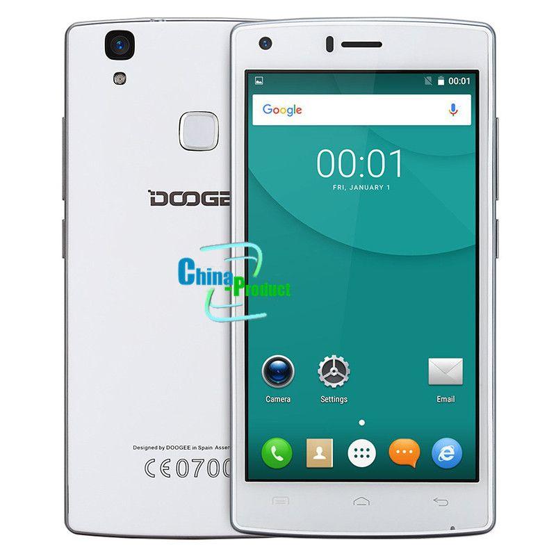 DOOGEE X5 Max pro Fingerprint mobile phones 5.0Inch HD Android6.0 Dual SIM MTK6737 5.0 Inch Quad Core 4000mAH 2GB RAM 16GB ROM WCDMA LTE GPS