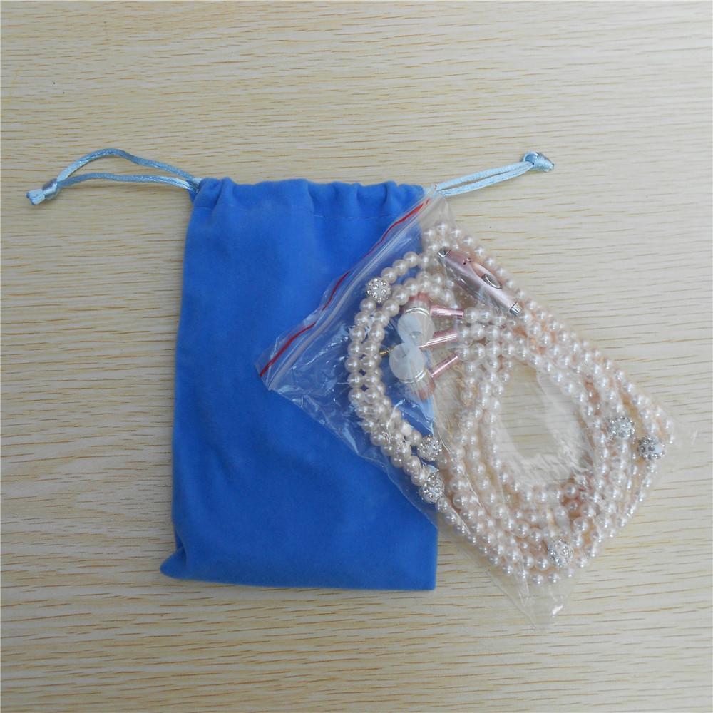 Luxe Strass Bijoux Collier De Perles Écouteurs Avec Microphone Rose Fille Écouteurs Casque Pour Iphone HuaWei XiaoMi Meilleur Girft
