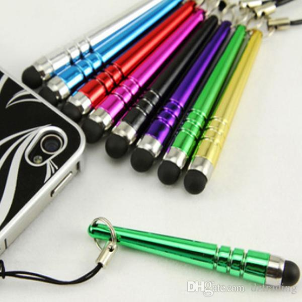 Baseball Bat Design Capacitive Stylus Pen Touch Screen Pen For Phone/ IPhone 4/5/6/7 For IPad 2/ 3/4/Air/Air2