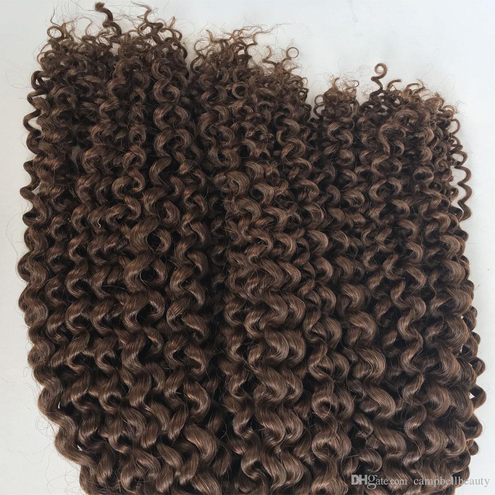 Afro Kinky Curly Malaysian Bulk Human Hair For Braiding 100% Unprocessed Human Braiding Hair Bulk No Weft Natural Black