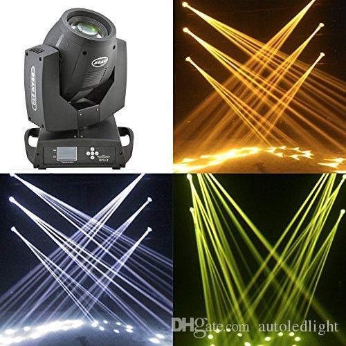 230 w LED Spot Işın Hareketli Kafa Işık Dmx512 7R Dj Sahne Işık KTV pub sahne dans ışığı için Geliyor