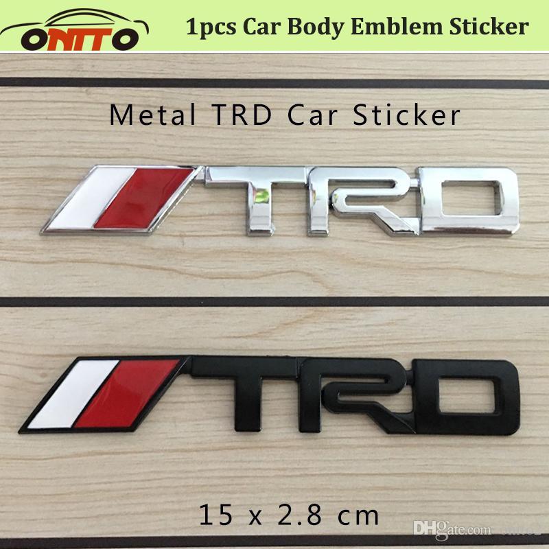 Best Price Auto D For Trd Metal Label Motor Car Body Emblem - Best car sticker logo