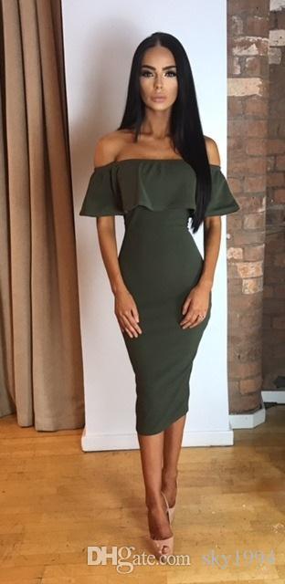 HOT !! 2017 modische büro dame dress temperament kultivieren zeigen dünne pakethinterteile frauen frühling elegante damen sexy