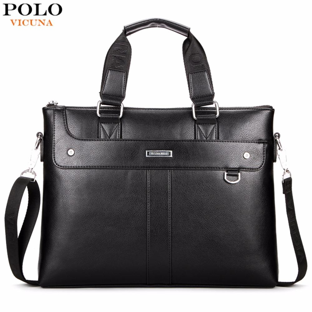 Wholesale Vicuna Polo Classic Business Man Briefcase Brand Computer