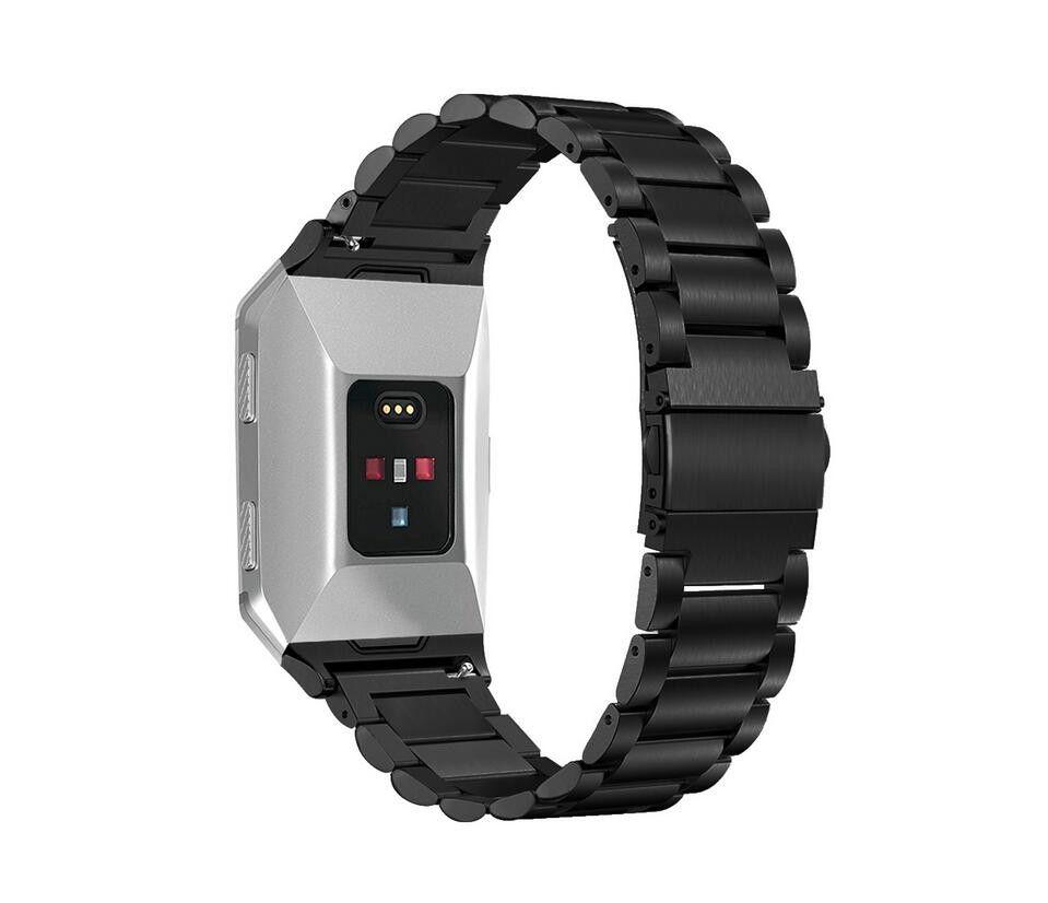 Accesorios inteligentes más nuevos 2018 para Fitbit Ionic banda de acero inoxidable banda de reloj inteligente banda de repuesto de metal para Fitbit Ionic